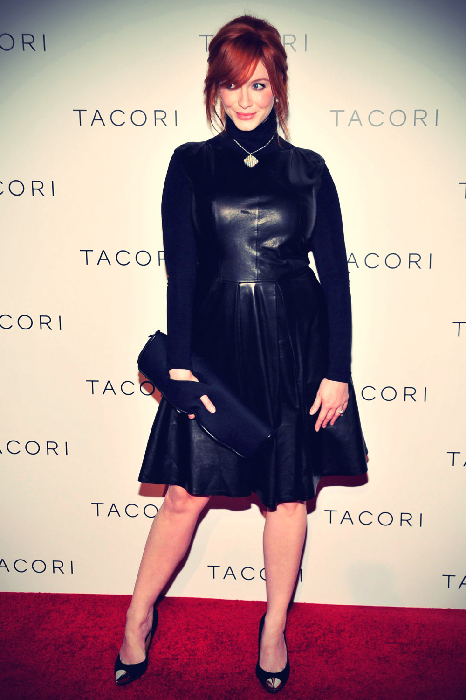 Christina Hendricks attends Tacori Unveils City Lights Jewelry Collection