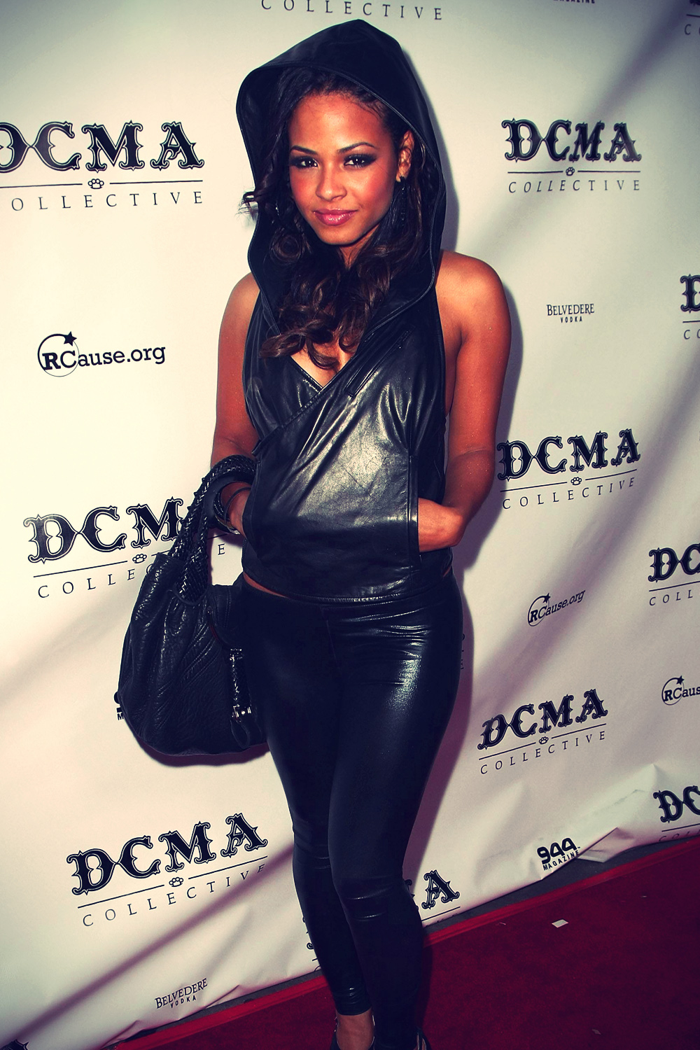 Christina Milian at opening of DCMA Collective's flagship store