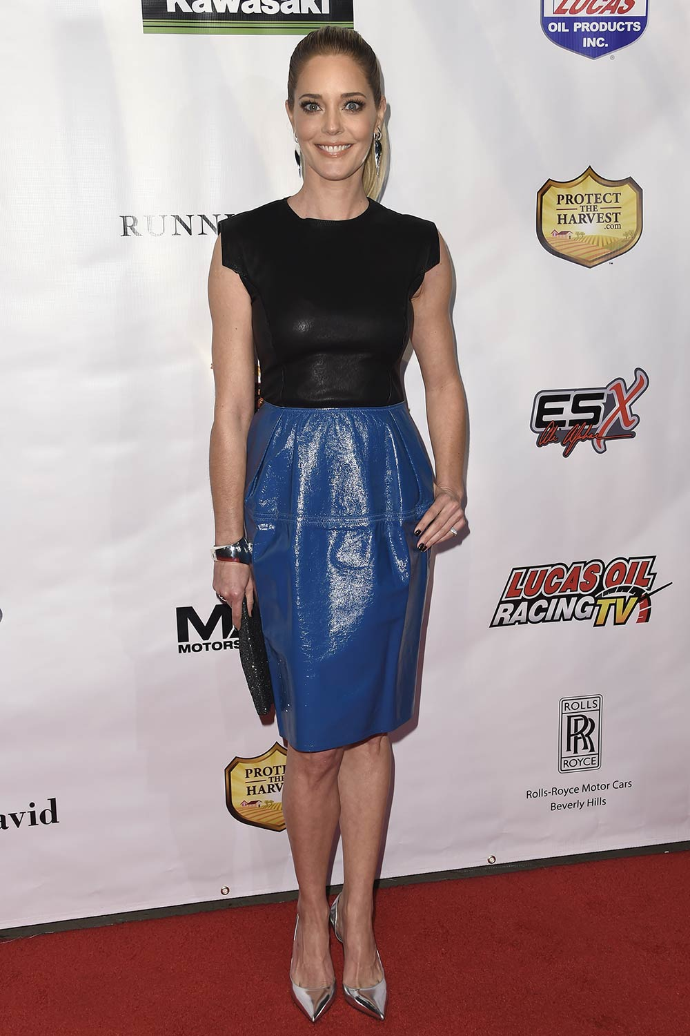 Christina Moore attends the premiere of Running Wild