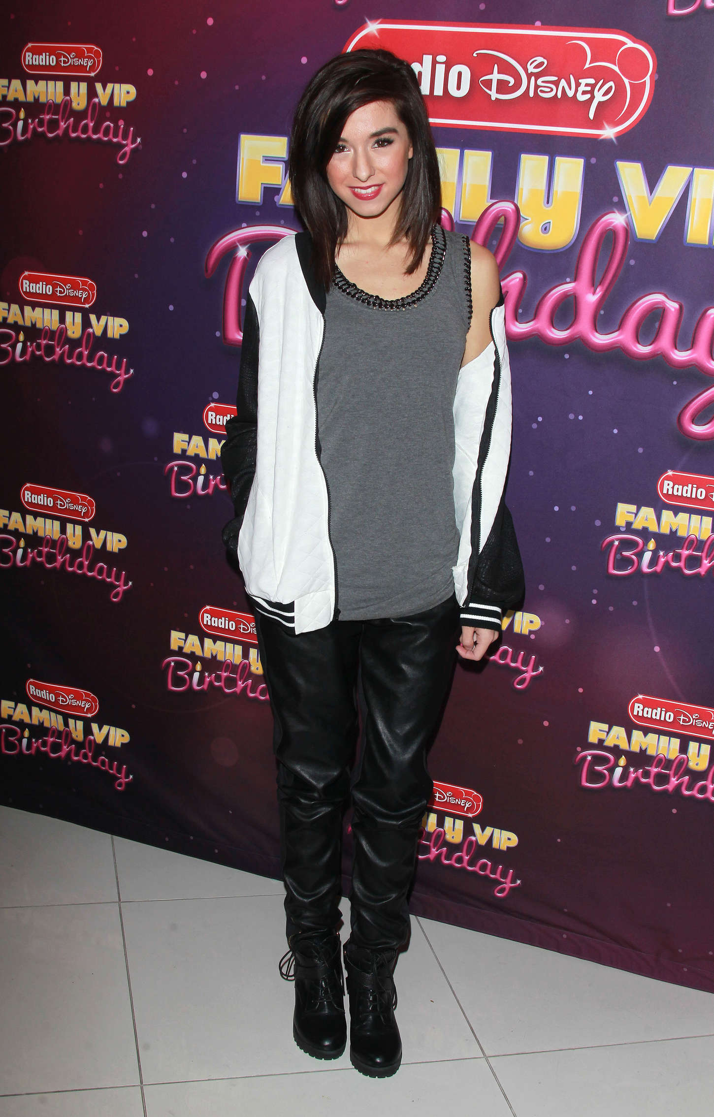 Christina Grimmie attends Radio Disney's Family VIP Birthday