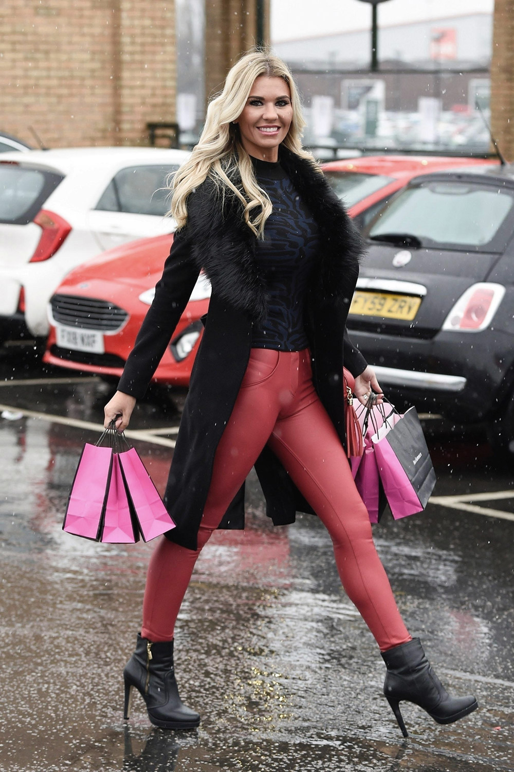 Christine McGuinness out Shopping