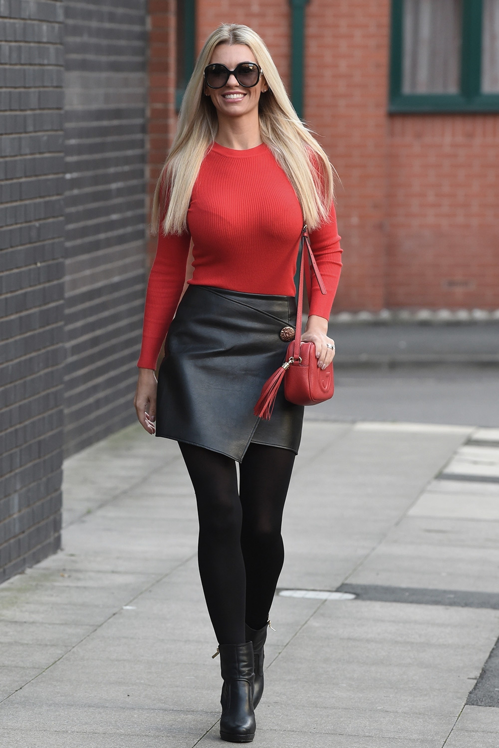 Christine McGuinness out and about in Manchester City