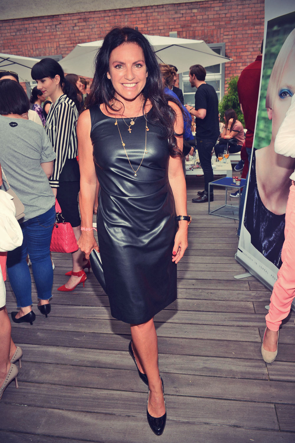 Christine Neubauer attends the Gala Fashion Brunch