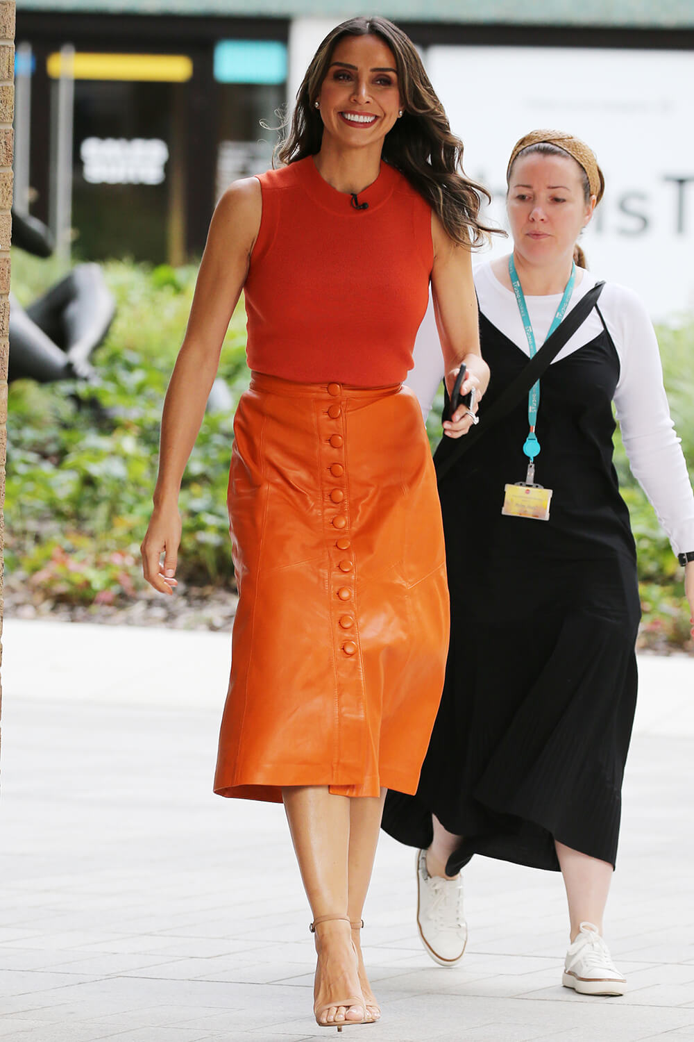 Christine Bleakley at ITV Studios