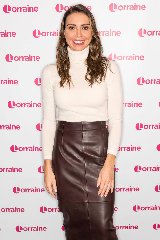 Christine Bleakley at Lorraine TV show