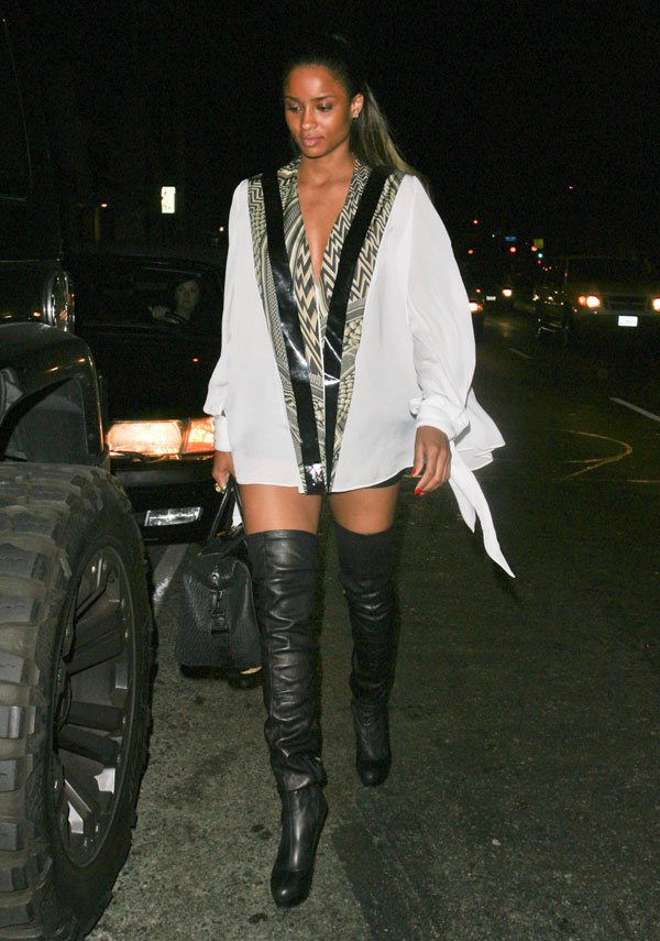 Ciara Leather Celebrities