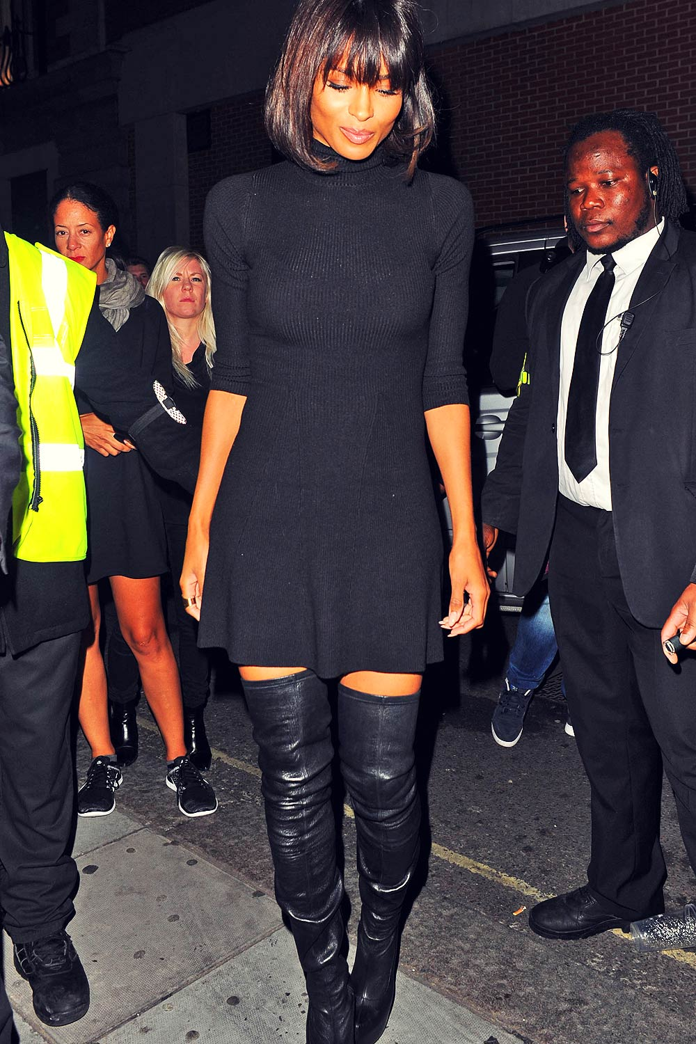 Ciara arrives at Libertine Club in London