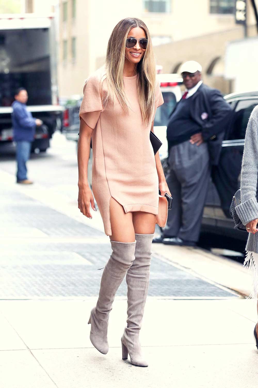 Ciara at Barney's New York on Madison Avenue