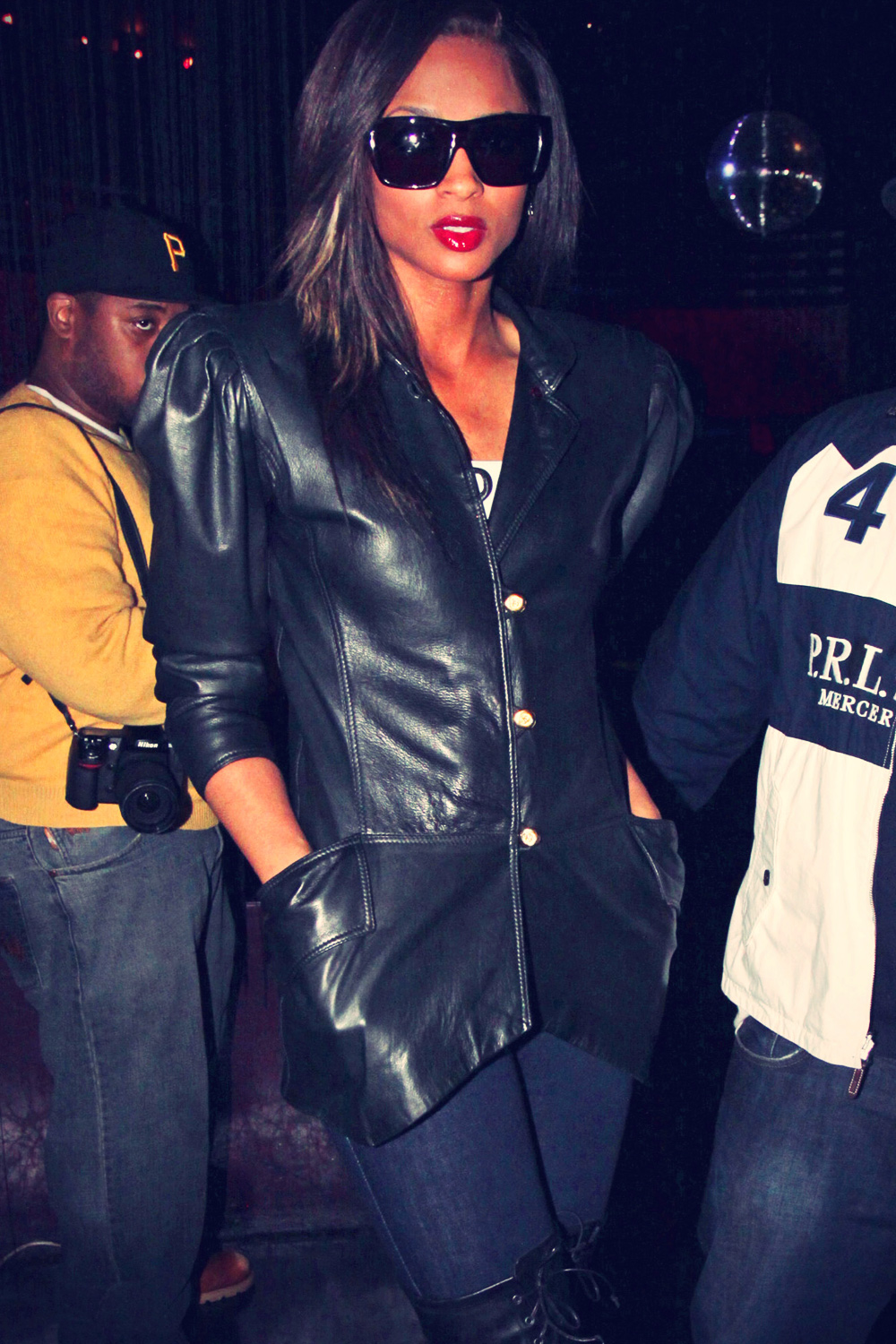 Ciara at Prime grand opening of Next Level