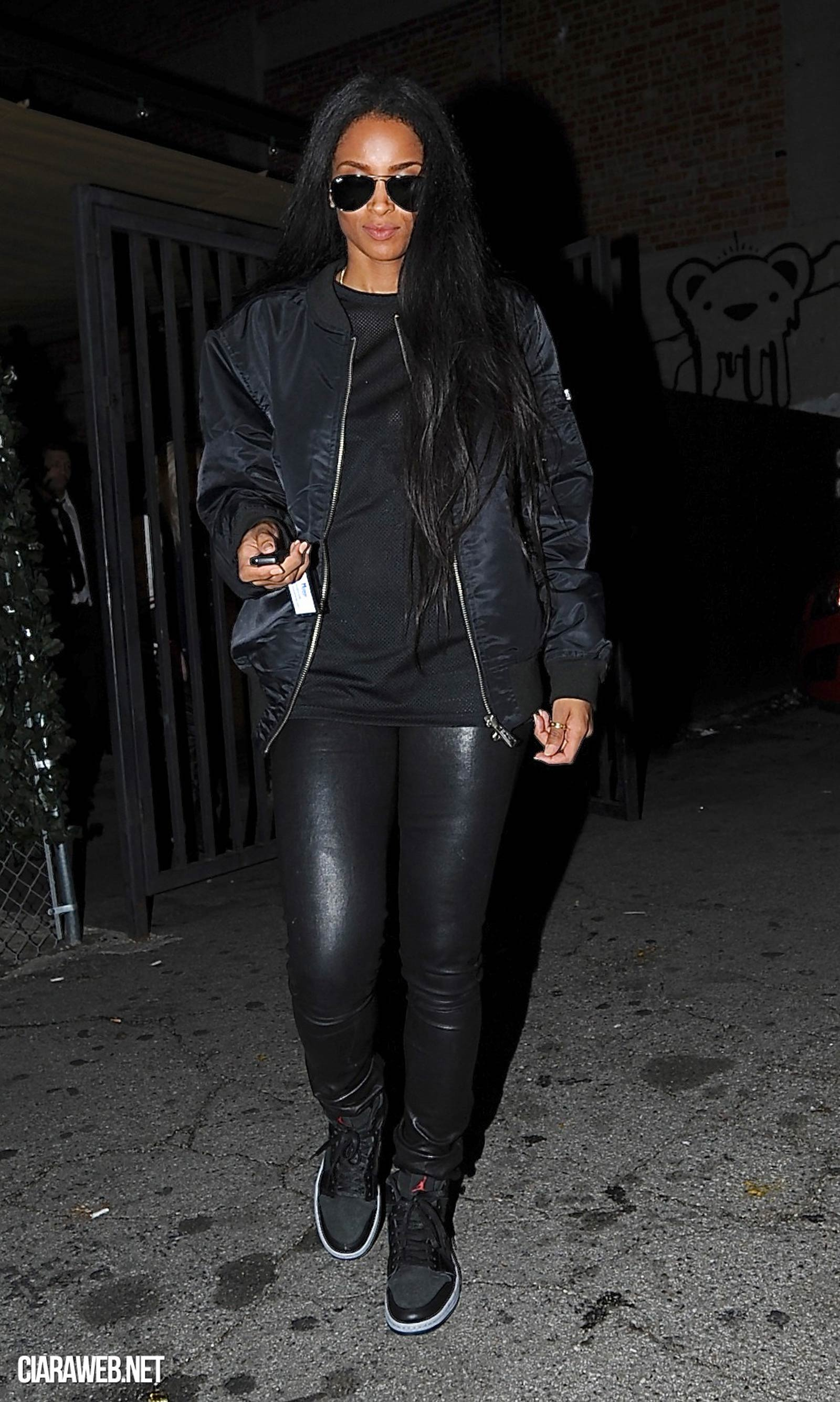 Ciara night out at Supperclub