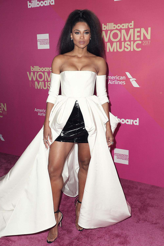 Ciara attends Billboard Women in Music
