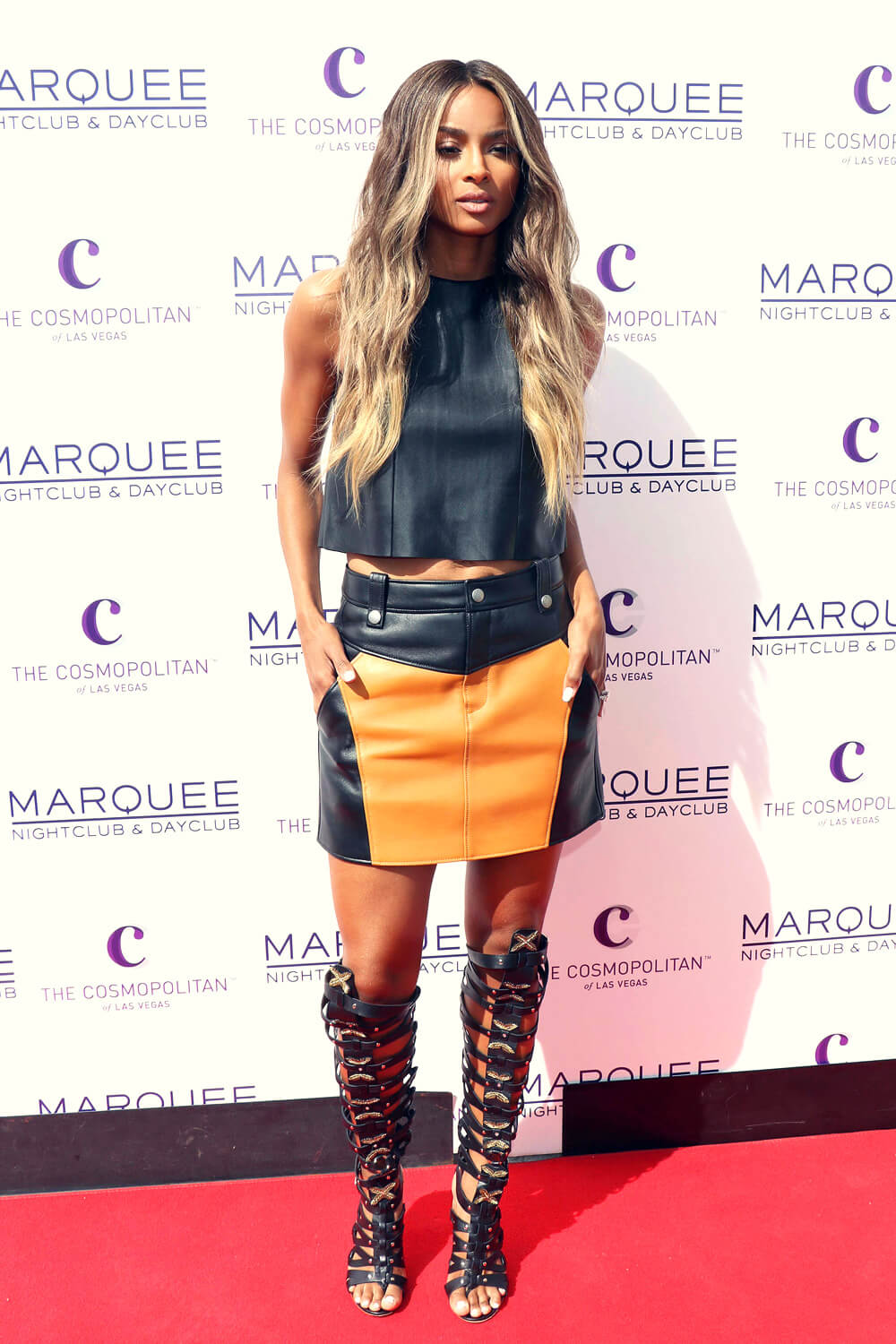 Ciara attends Season Grand Opening of Marquee Dayclub