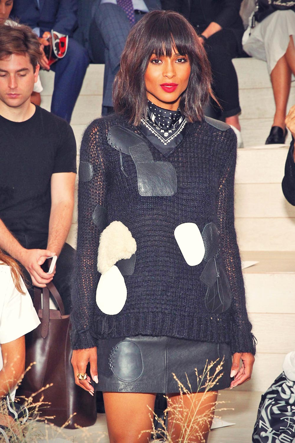 Ciara attends the Coach Women's Spring 2016 fashion show