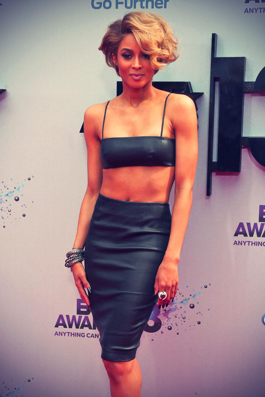 Ciara during the 2013 BET Awards at Nokia Theatre LA
