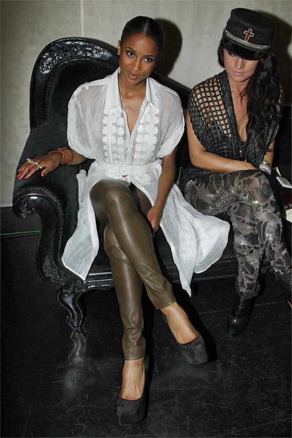 Ciara at Jean Paul Gaultier Front Row - Paris FW Spring