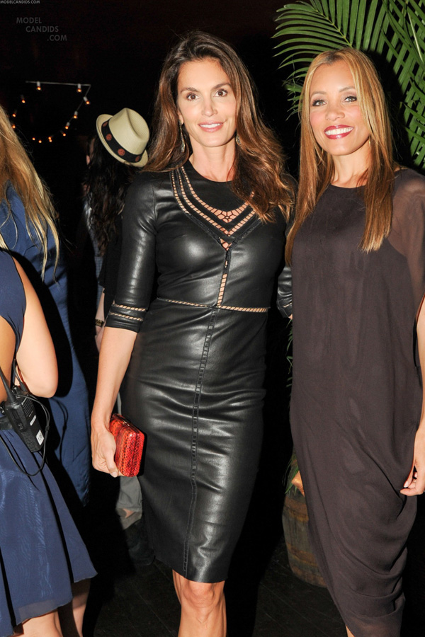 Cindy Crawford at the Caliche Rum Launch Event