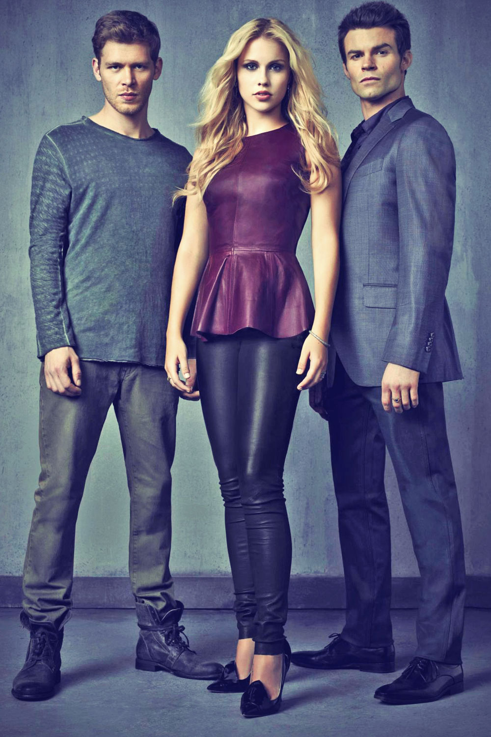 Claire Holt photosooting for The Vampire Diaries tv series promo