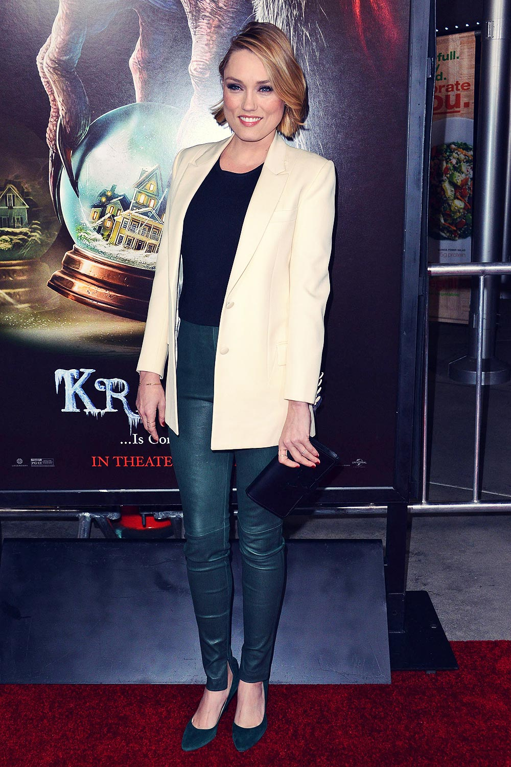 Clare Grant attends Screening of Universal Pictures Krampus