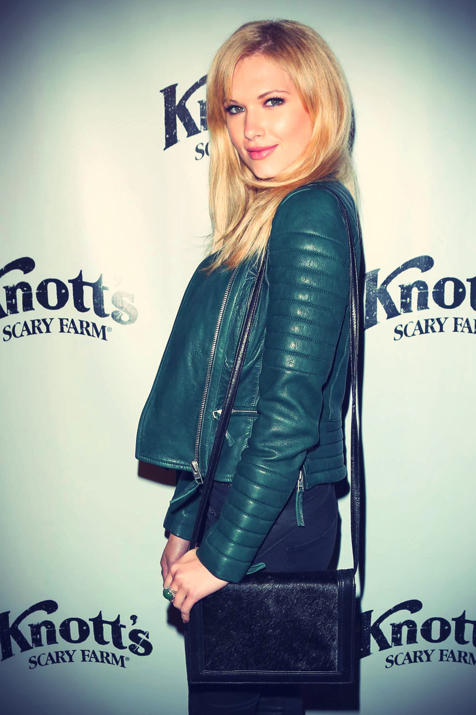Claudia Lee at Knott's Scary Farm Haunt VIP Opening Night Party
