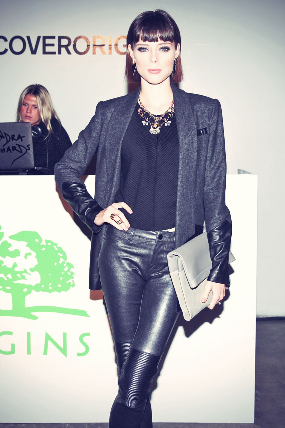 Coco Rocha attends On the Road with Origins global premiere