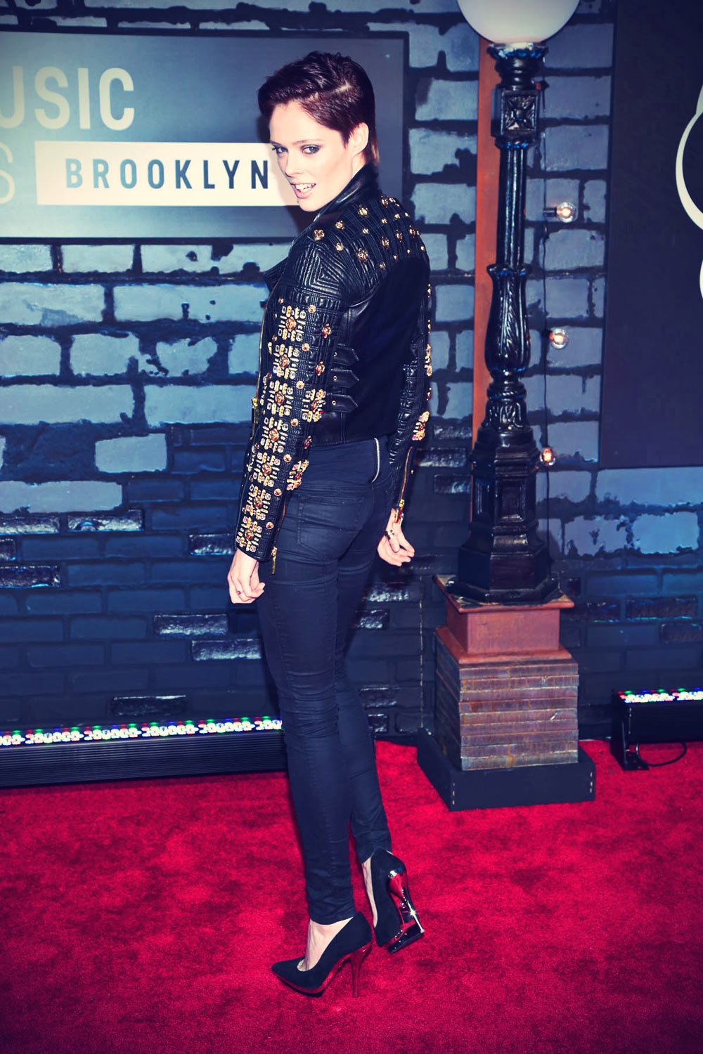 Coco Rocha attends attends The 2013 MTV Video Music Awards