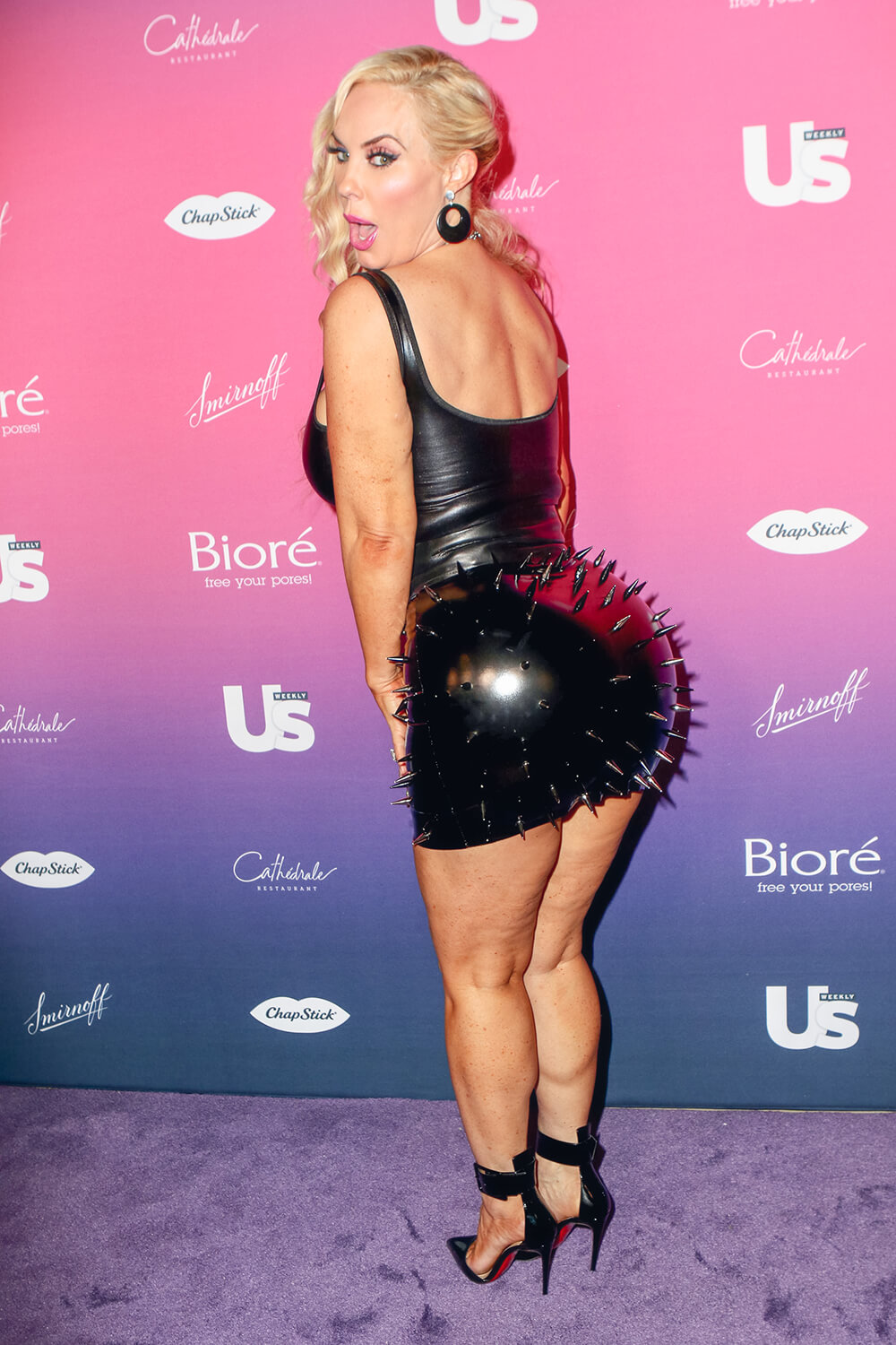 Coco Austin attending US Weeklys 2019 Most Stylish New