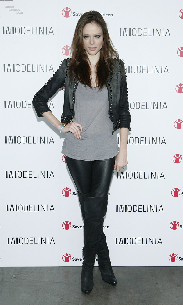 Coco Rocha attends the Modelinia Beautiful Friends Forever Bracelet launch at the Dream Hotel