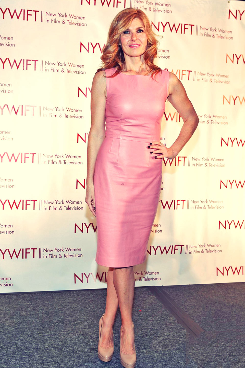 Connie Britton attends the New York Women in Film and Television