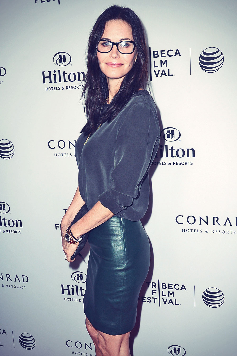 Courteney Cox celebration of the 2014 Tribeca Film Festival