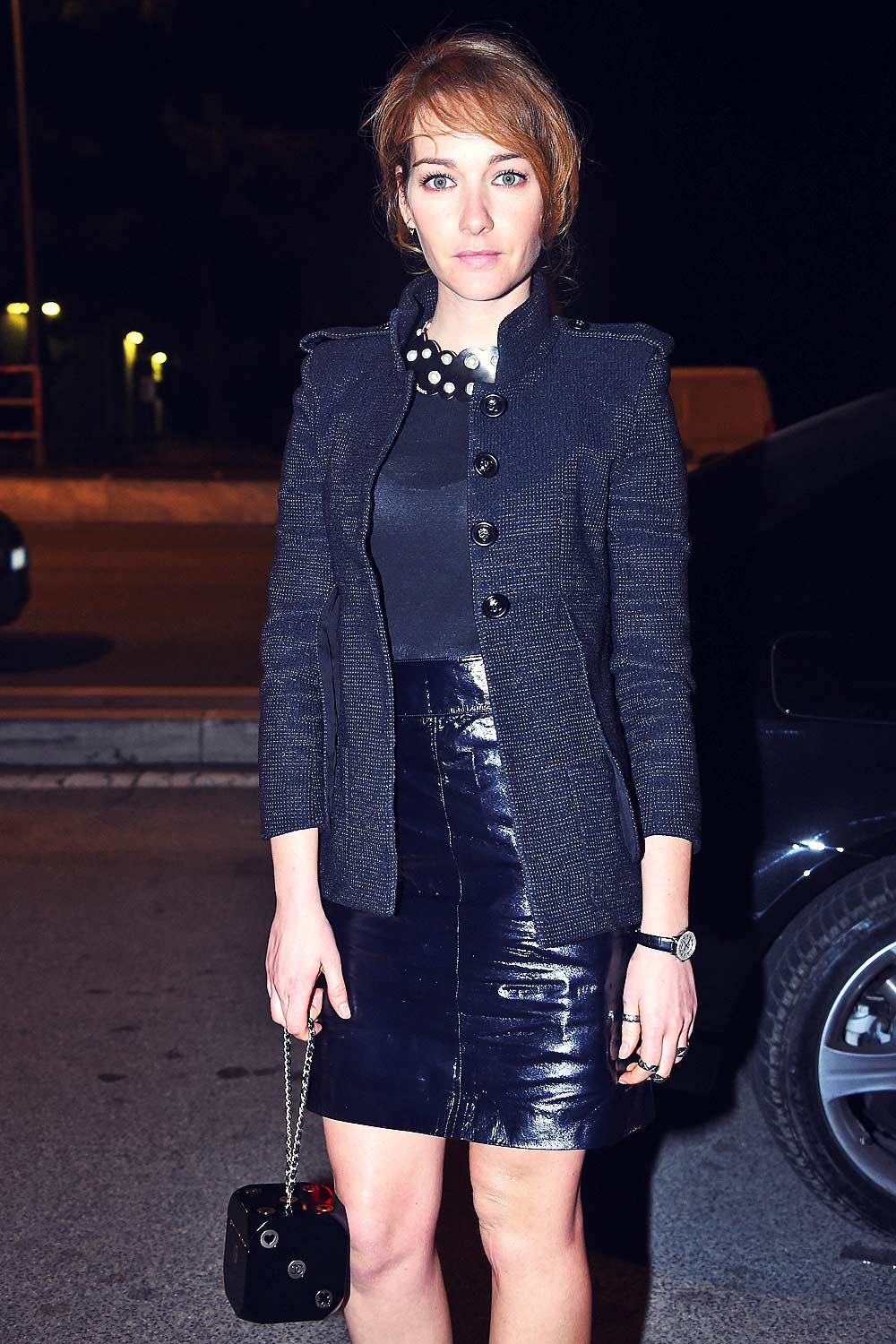 Cristiana Capotondi attends Chanel Metiers d'Art 2015/16 Fashion Show