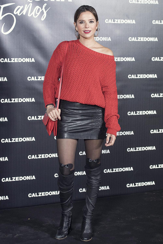 Cristina Alarcon Attends Calzedonia 25th Anniversary Party
