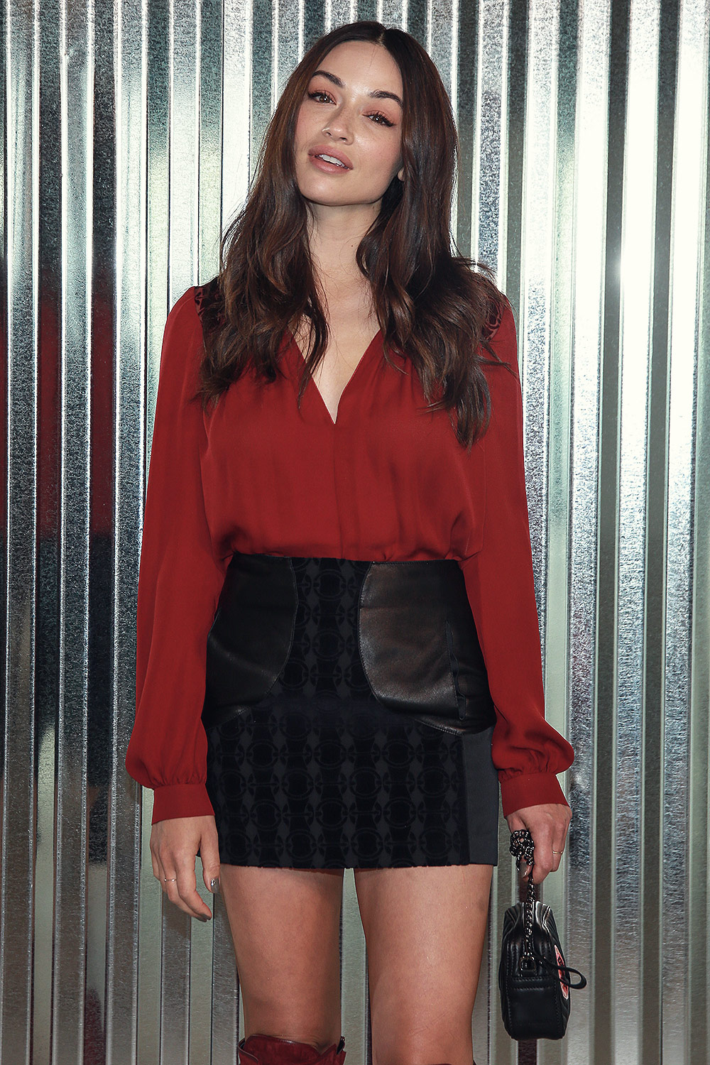 Crystal Reed attends Longchamp Spring/Summer 2019 Runway Show
