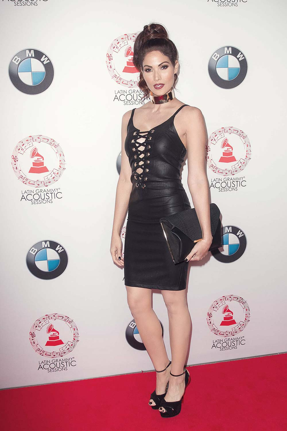 Cynthia Olavarria attends the Latin GRAMMY Acoustic Sessions