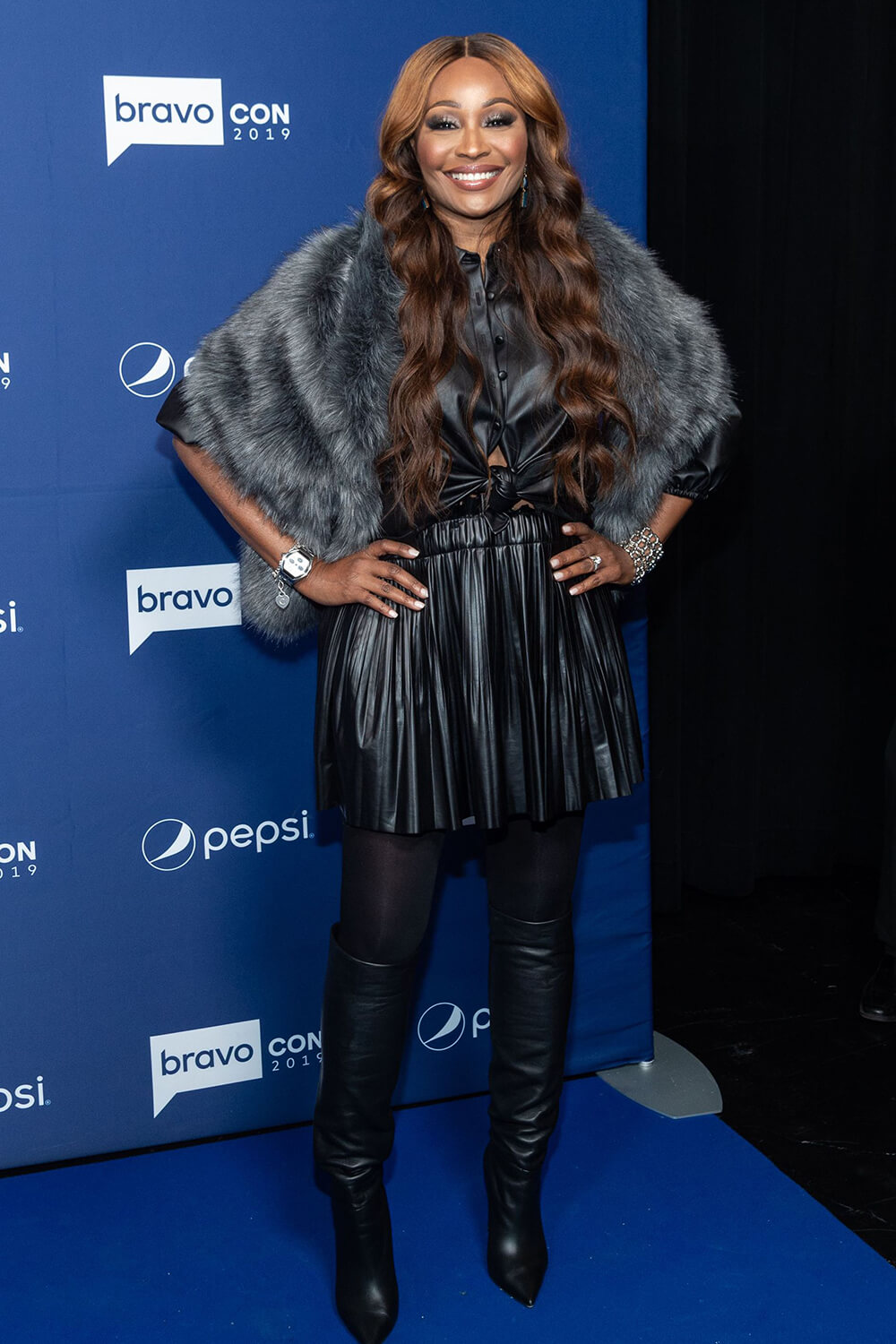 Cynthia Bailey attends Watch What Happens Live with Andy Cohen' TV show