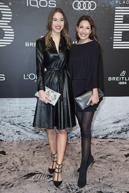 Dagmar Kogel & Alana Siegel attend PLACE TO B Berlinale Party