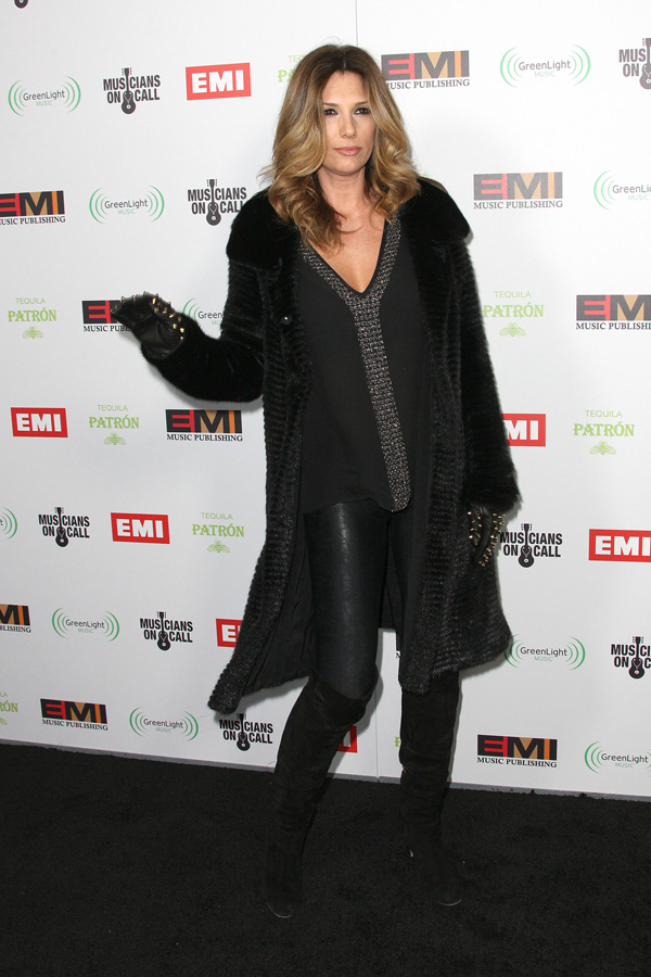 Daisy Fuentes at EMI Music 2012 Grammy Awards party