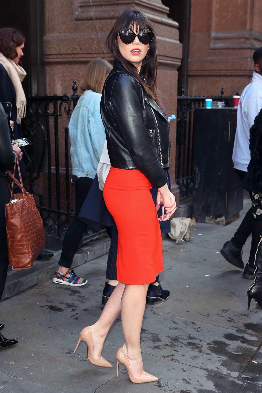 Daisy Lowe attends Advertising Week Europe