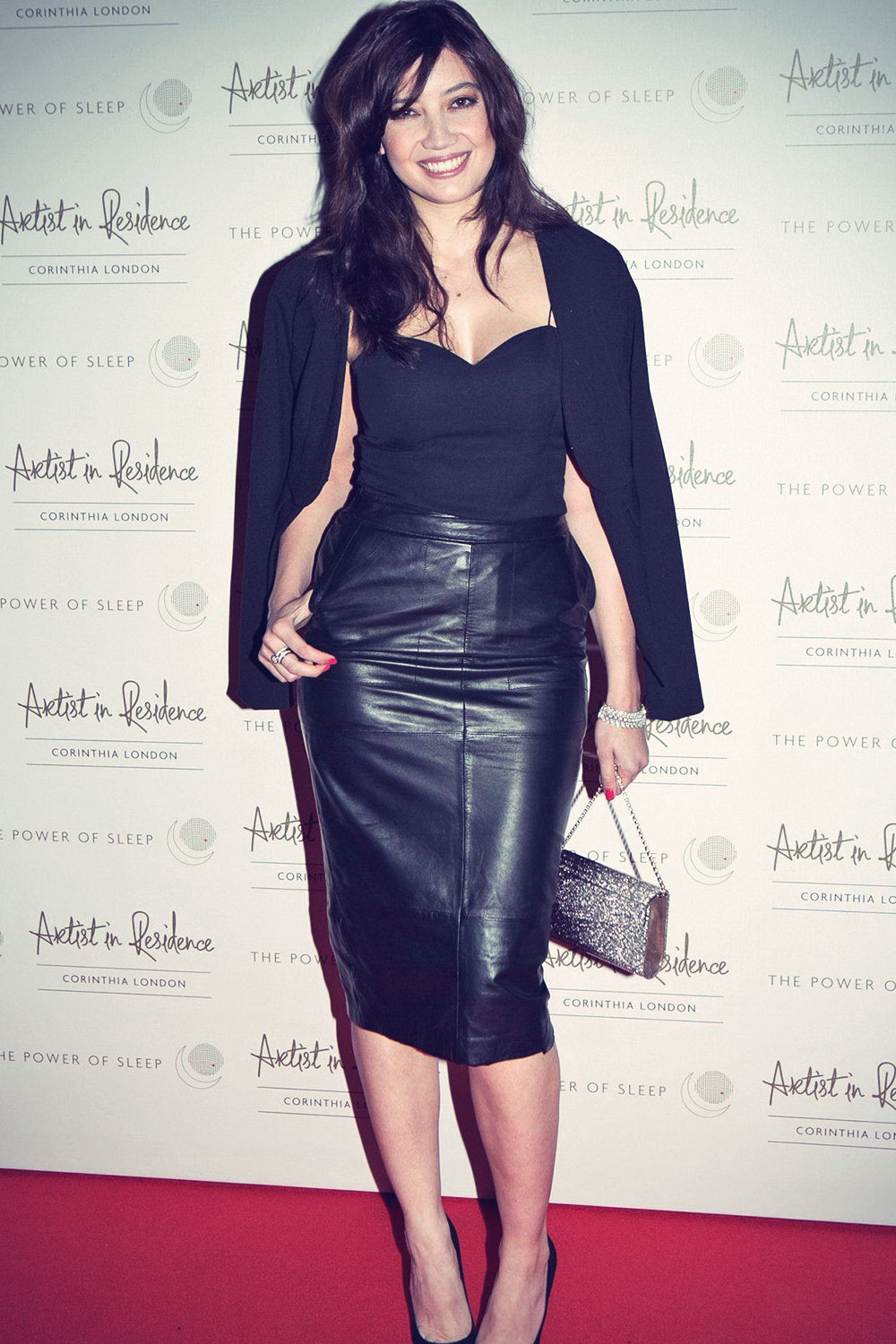 Daisy Lowe attends Artist In Residence Screening