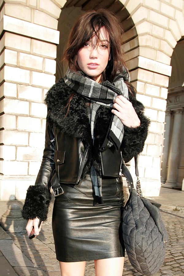 Daisy Lowe out and about