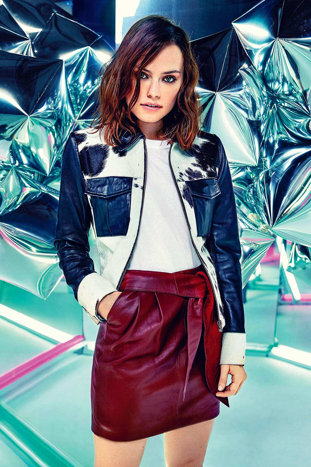 Daisy Ridley in ASOS Magazine