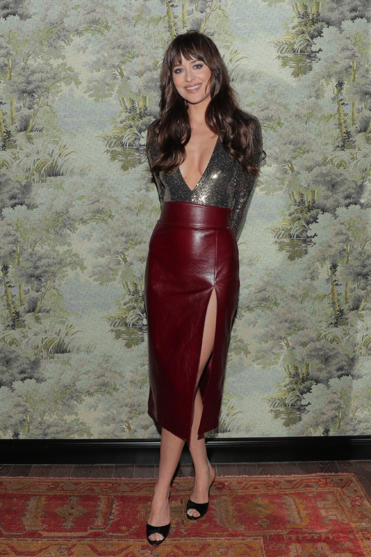 Dakota Johnson attends Gucci celebrates the opening of Gucci Osteria da Massimo Bottura