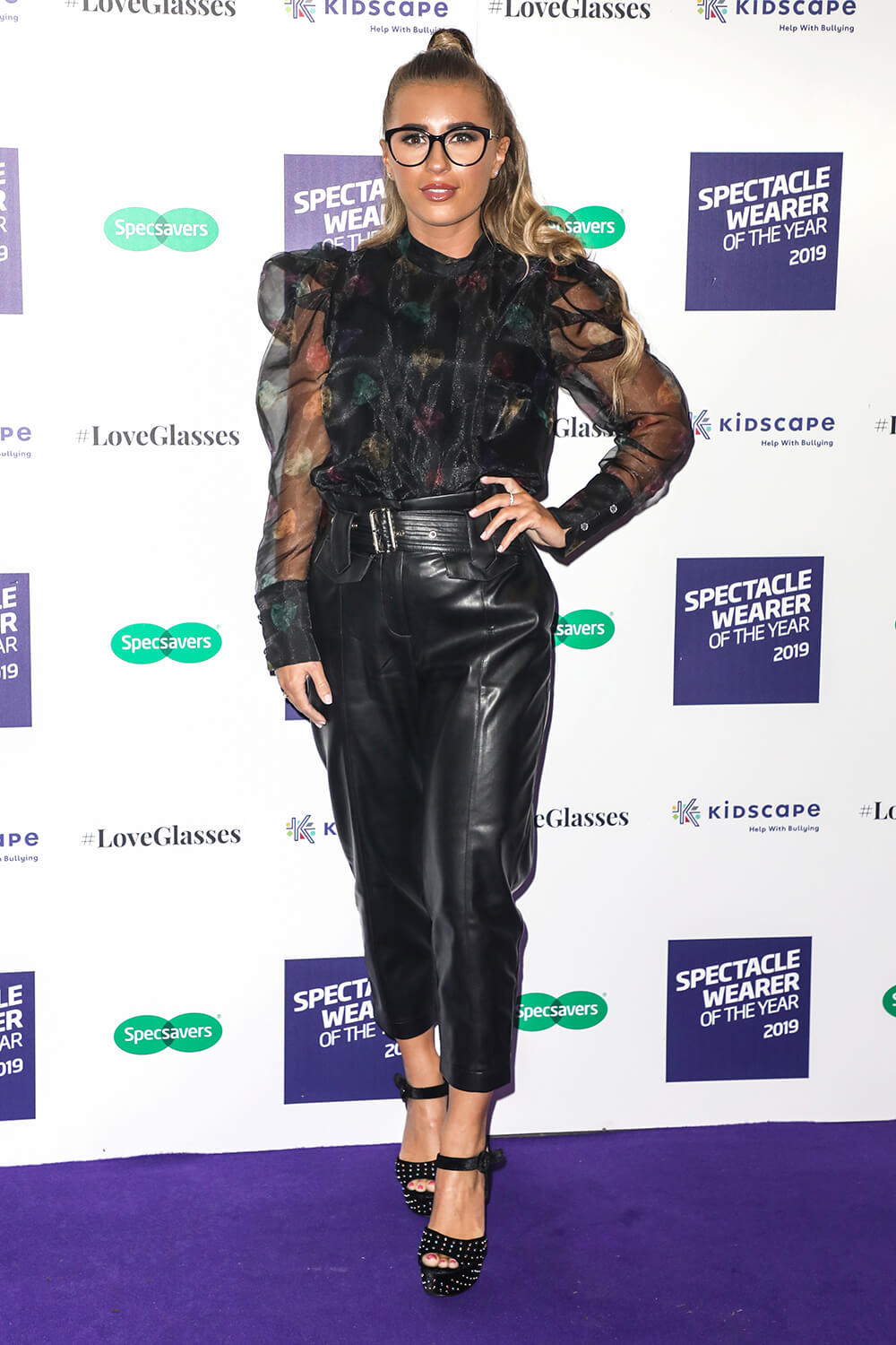Dani Dyer attends Specsavers' Spectacle Wearer of the Year Awards