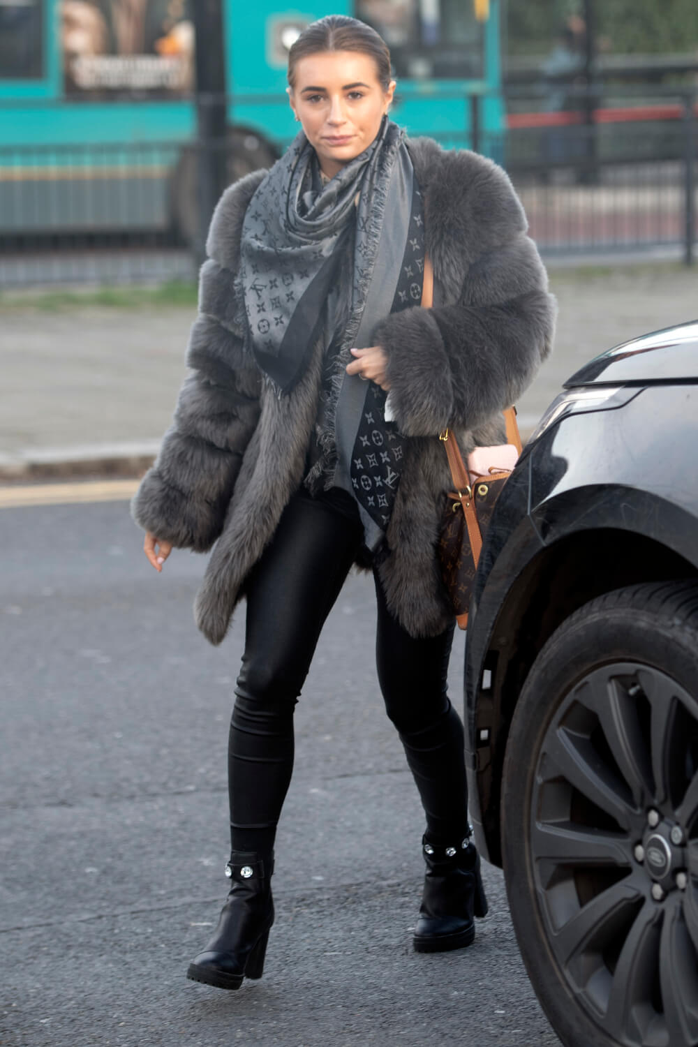 Dani Dyer out in Essex