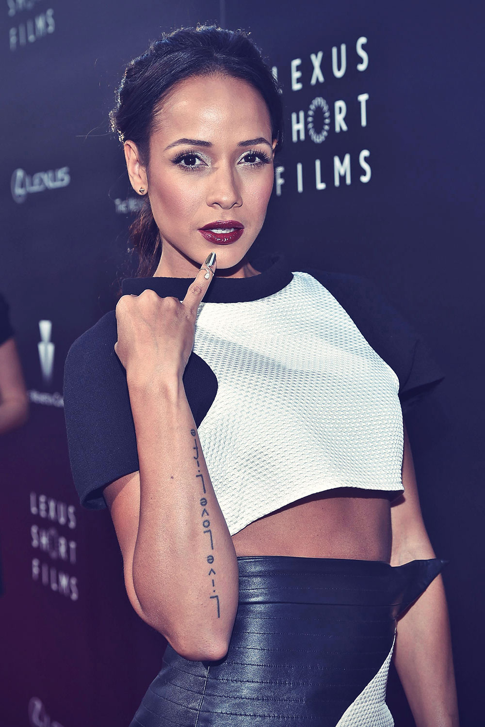Dania Ramirez attends 2nd annual Lexus Short Films Life Is Amazing