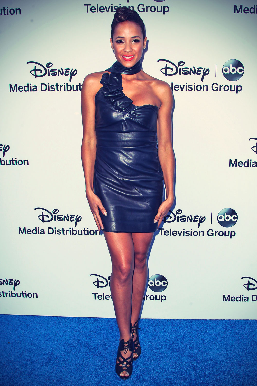 Dania Ramirez attends Disney Media Networks International Upfronts