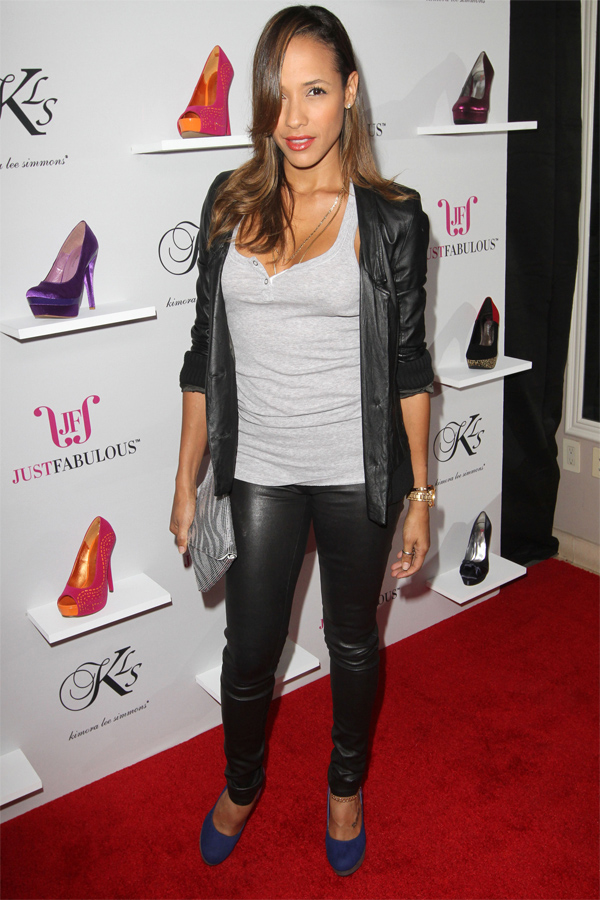 Dania Ramirez attends The JustFabulous Launch Party at The Mondrian Hotel in LA