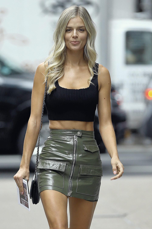 Danielle Knudson attends Casting Call for the Victoria's Secret Fashion Show
