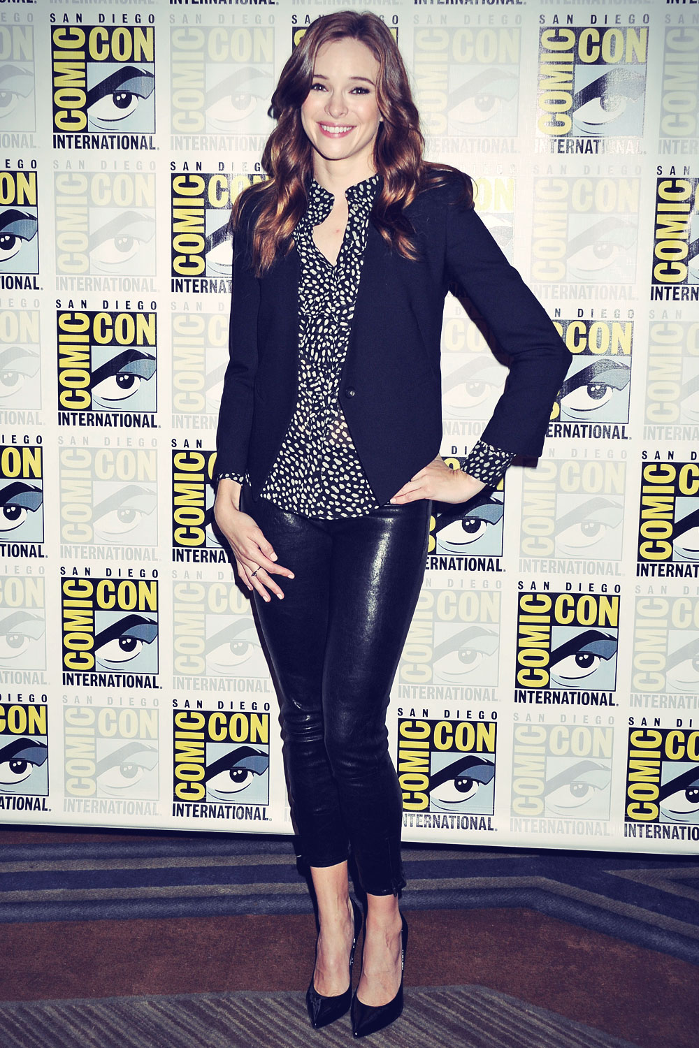 Danielle Panabaker attends 2014 Comic-Con