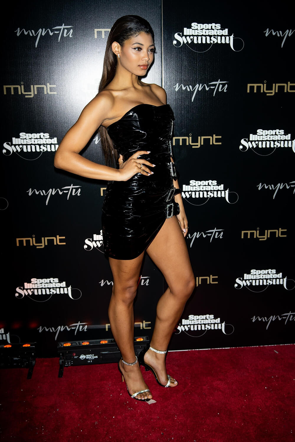 Danielle Herrington attends Sports Illustrated Swimsuit issue launch