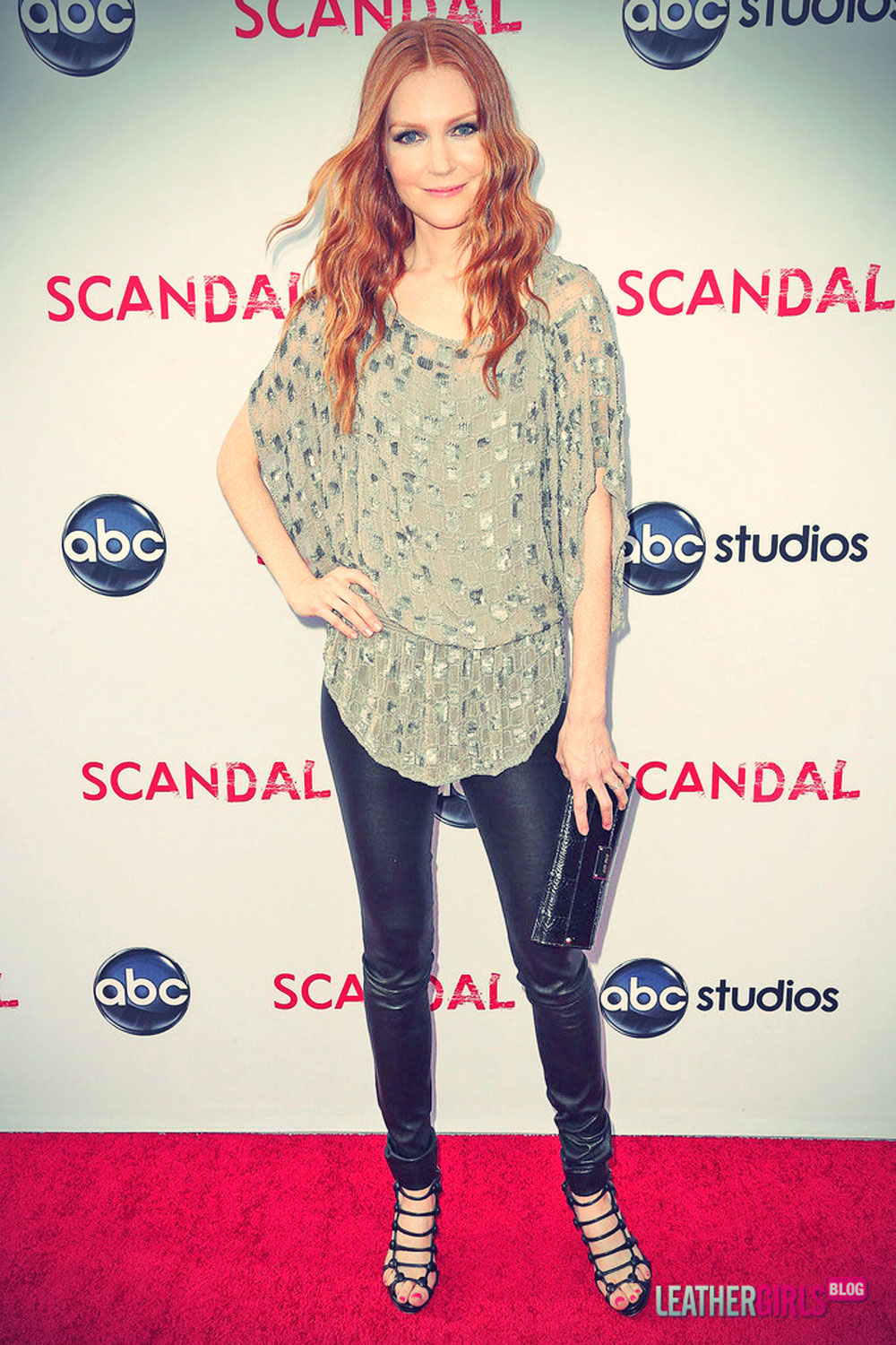 Darby Stanchfield attends Academy of Television Arts & Sciences
